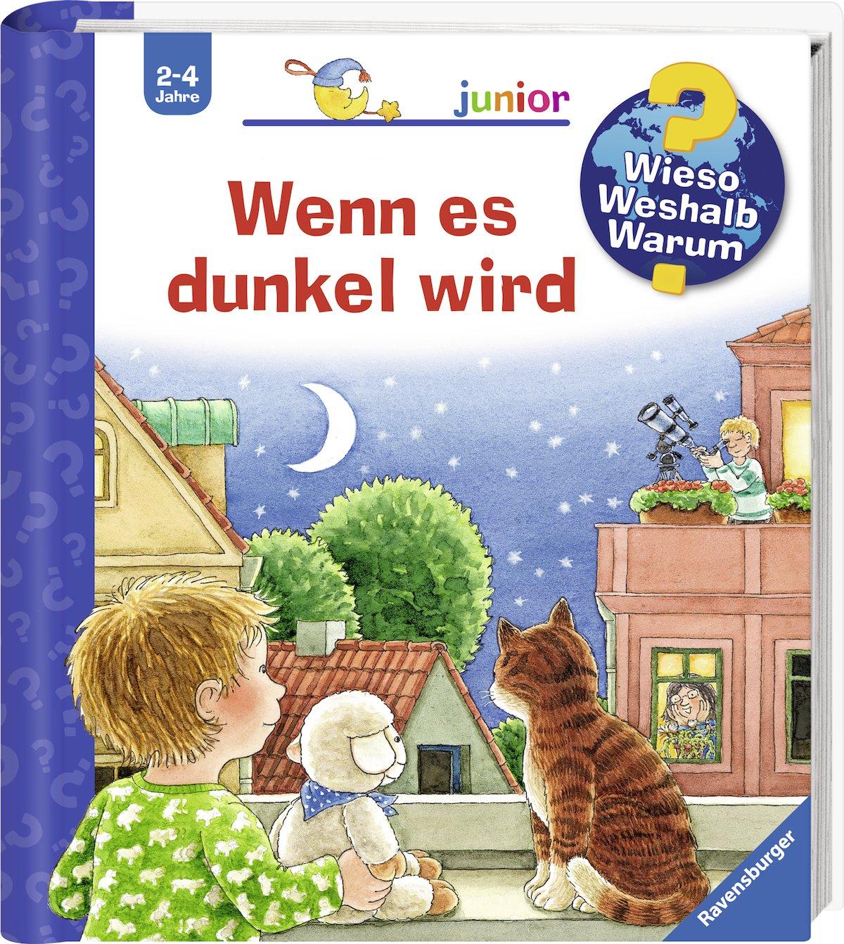 Wenn es dunkel wird (Wieso? Weshalb? Warum? junior, Band 28) Spiralbindung – 1. Februar 2009 Constanza Droop Ravensburger Buchverlag 3473328014 Ab 24 Monaten