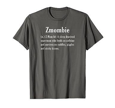 Amazon Zmombie Zombie Mommy Sleep Deprived T Shirt Clothing