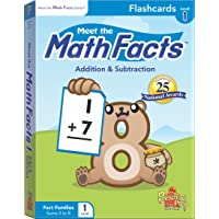 Meet the Math Facts Addition & Subtraction Flashcards - Level 1