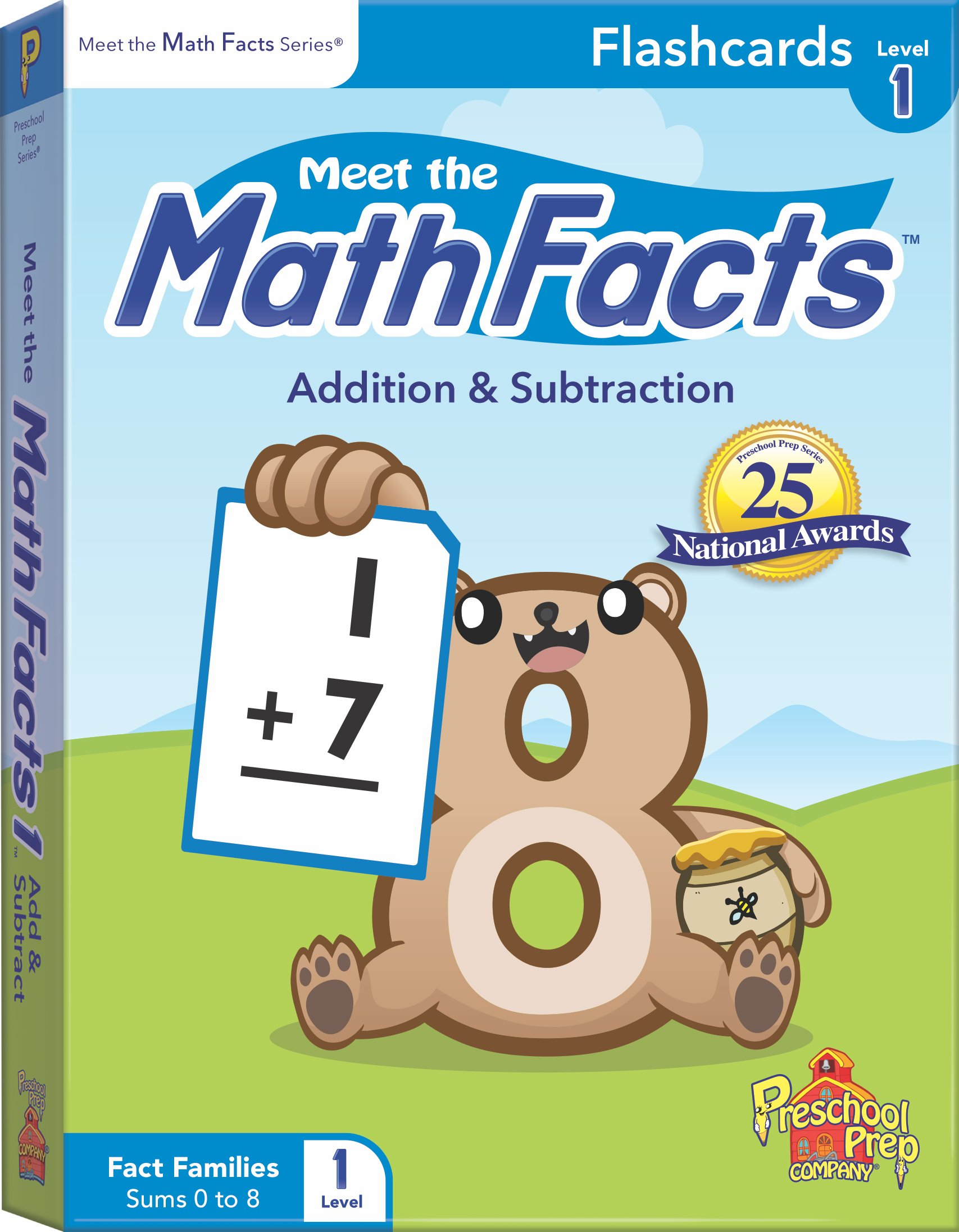 Meet the Math Facts Addition & Subtraction Flashcards - Level 1 ...