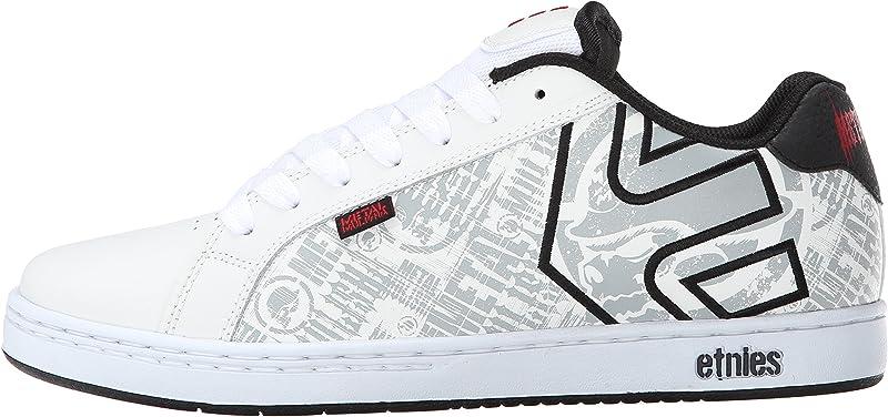 Etnies Fader Metal Mulisha Sneakers Skateboardschuhe Herren Weiß/Schwarz/Rot