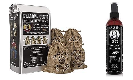 Amazon.com: Grandpa Guss - Bolsas repelentes de ratones + ...