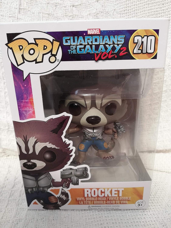 Funko Pop Marvel Guardians of the Galaxy Vol Rocket Vinyl Bobble-Head 13270 2