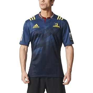 4d941c64590 adidas Otago Highlanders doméstica/Camiseta de Rugby Azul Minblu/Conavy  Talla:M: Amazon.es: Deportes y aire libre