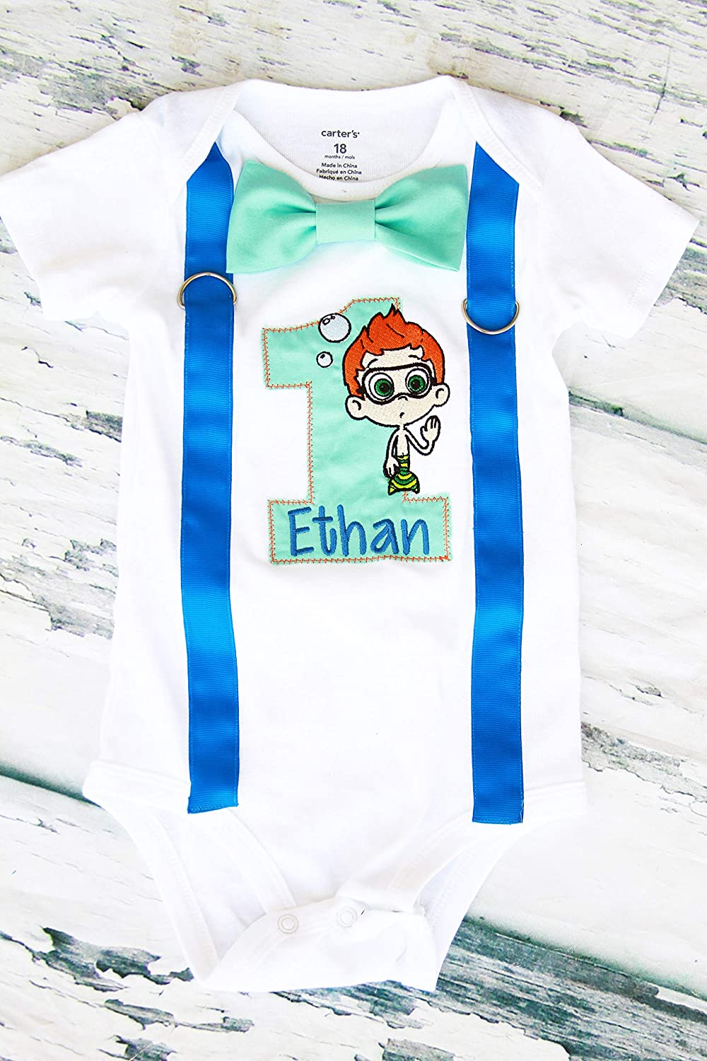 Miraculous Amazon Com Boy First Birthday Outfit Boy Cake Smash Outfit Funny Birthday Cards Online Hetedamsfinfo