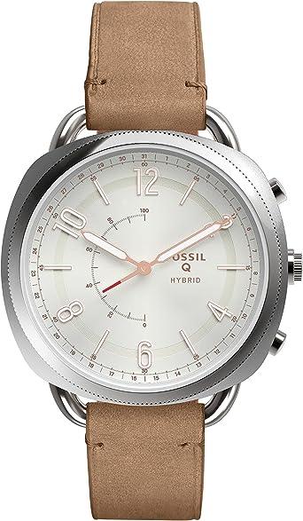 Fossil Orologio Smartwatch Microcontrollore Donna con Cinturino in ...