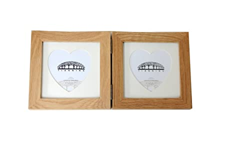 4x4 Inch Hinged Picture Frame ,Two 4x4 Inch Pictures, Stands ...
