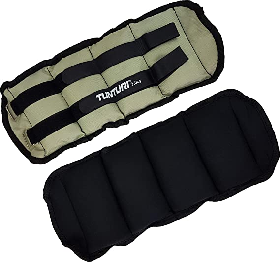 Details about  /1 Pair 0.5kg Ankle// Wrist Weights Adjustable Straps Sandbags for Arm Exercises,