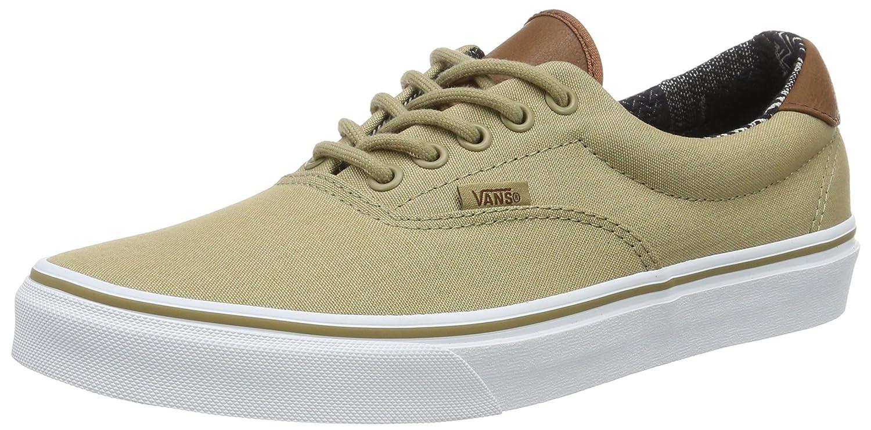 Vans Unisex Era 59 Skate Shoes B01I22QDNA 9 D(M) US Khaki / Material Mix