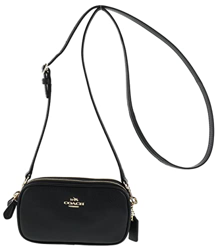 Image Unavailable. Image not available for. Color  Coach Pebbled Leather  Convertible Crossbody Pouch Clutch Purse Handbag (Black) 8db43a0517
