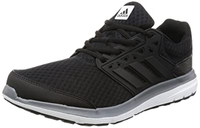 adidas Galaxy 3.1, Chaussures de Running Homme, Multicolore (C Black/c Black/Iron MT), 42 EU