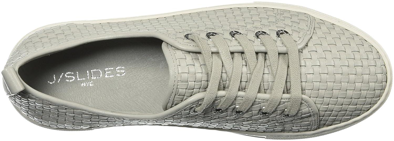 J Slides Women's Artsy Sneaker B076DQ5JD8 7 B(M) US Pale Grey