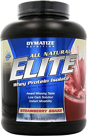 Dymatize Nutrition Elite All Natural Strawberry 2268g