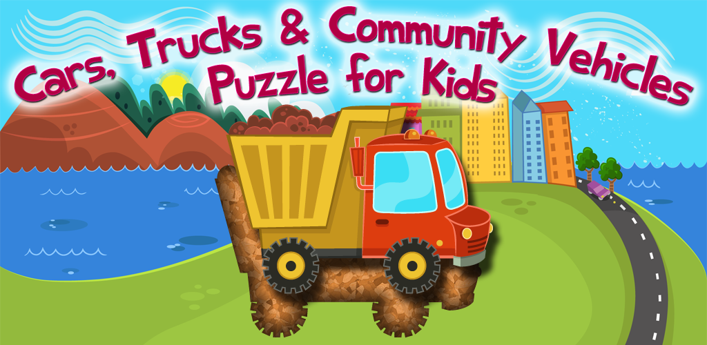 Amazon.com: Cars, Trucks & Community Vehicles - Puzzle for Kids