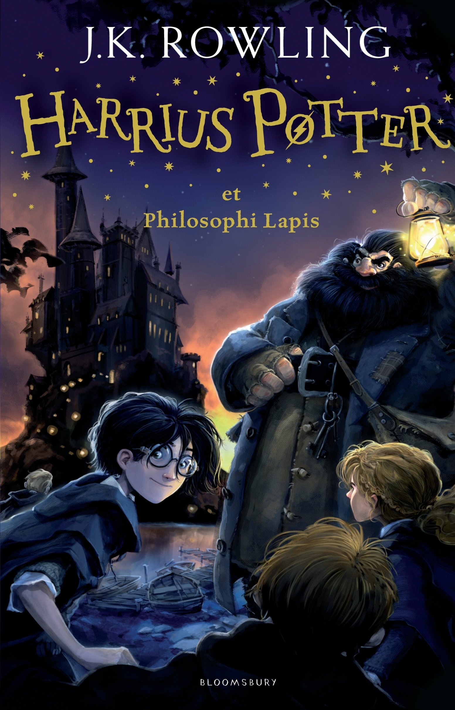 Harrius Potter et Philosophi Lapis (Harry Potter and the Philosopher's Stone, Latin edition) pdf epub