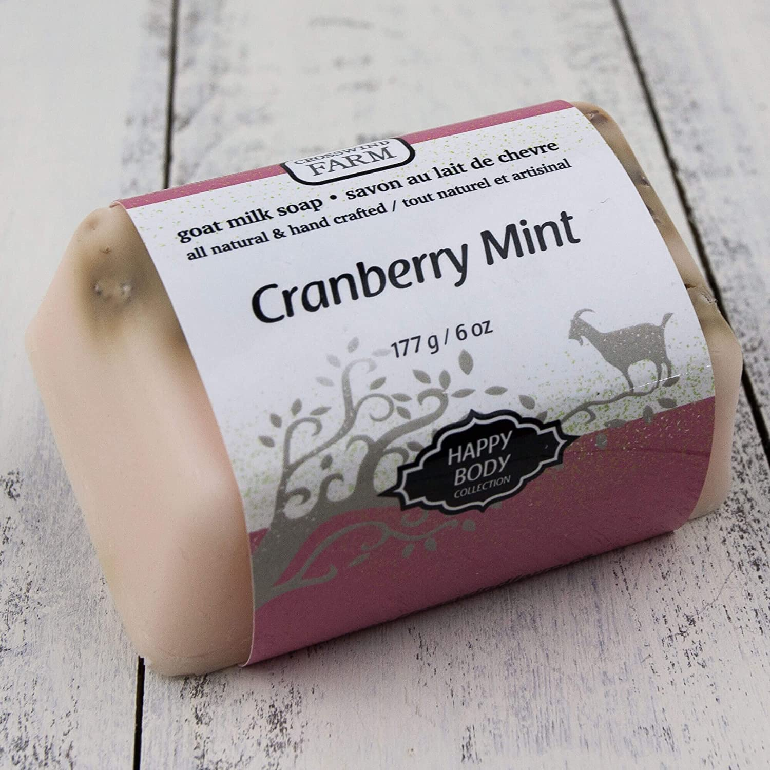 Cranberry Mint Goat Milk Soap