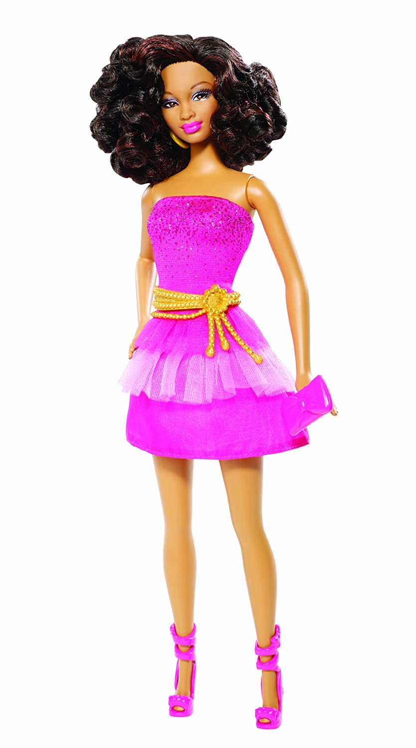 Amazon.com: Barbie So In Style S.I.S Trichelle Doll: Toys & Games