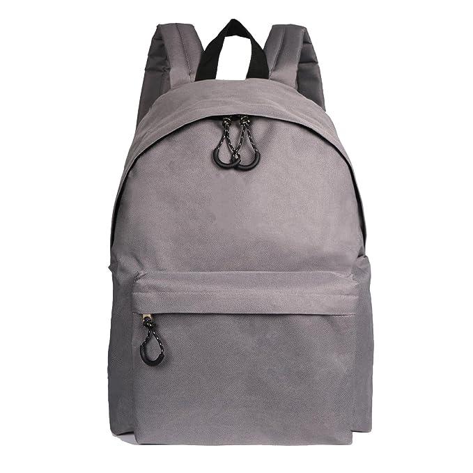 94a598b14dd ThiKin Lightweight Backpack Boys   Girls Junior High School Bags Student  Bookbags (TK25-Grey