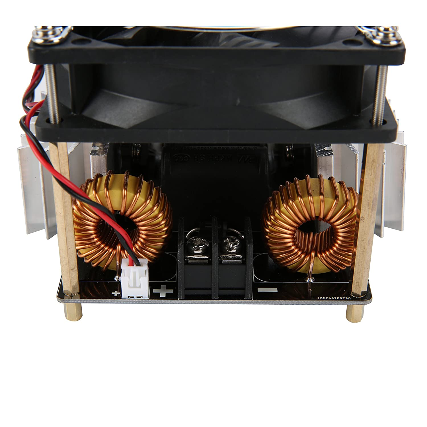 40a 1800w Zvs Low Voltage Induction Heating Board Module Diy Heater Circuit Simple Driver Computers Accessories