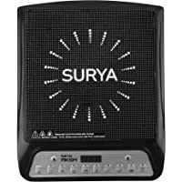 Surya Aksh Induction Cooktop 2000 Watts(A-8) (BLACK)