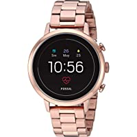 Fossil Gen 4 Venture Heart Rate Stainless Steel Smartwatch (Rose Gold)