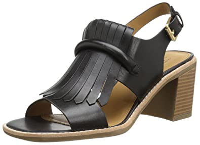 G.H. Bass & Co. Women's Reagan Dress Sandal, Black, ...