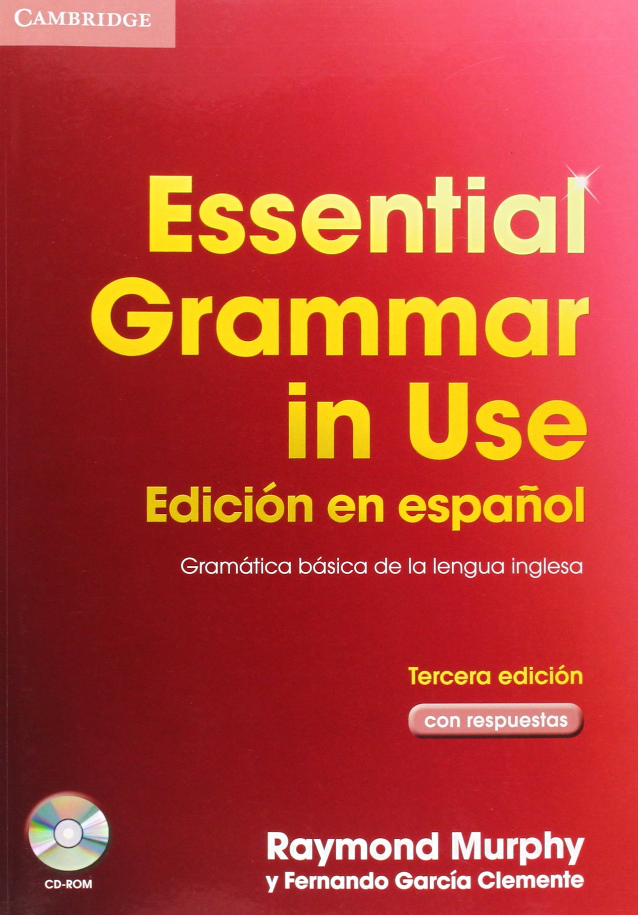 Essential Grammar in Use Spanish Edition with Answers with CD-ROM 3rd Edition