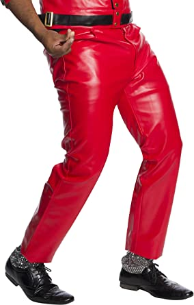 Amazon Com Pantalones De Disfraz De Michael Jackson Thriller Para Adulto Clothing