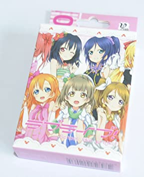 Love Life Poker School Idol Project Playing Cards