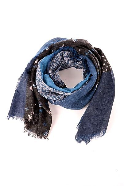 14b9fcca7b526 Liu Jo Jeans LIU JO A68246 T0300 Sciarpe Donna Blu TU  Amazon.it   Abbigliamento