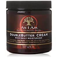 As I Am Double Butter Cream - 8 Ounce - Rich Daily Moisturizer - Soft and Shiny...