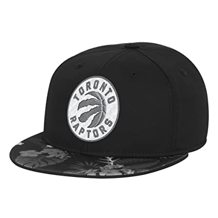 newest 5b117 390e4 NBA Toronto Raptors Men s Fanwear Hawaiian FVF Cap, Small Medium, Black