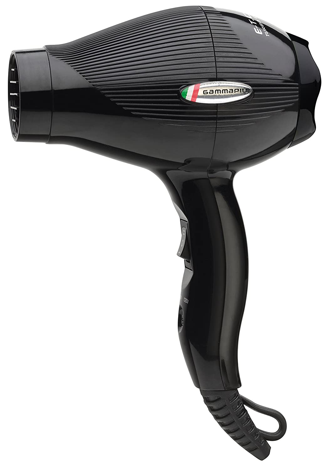Amazon.com  Gammapiu ETC Travel Hair Dryer - Professional Hair Dryer for  Travel - Duel Voltage US and European Hair Dryer - Black  Health   Personal  Care 427f21874b4
