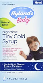 Baby Cough Syrup, Nighttime Infant Cough Medicine, Hyland's Natural Relief of