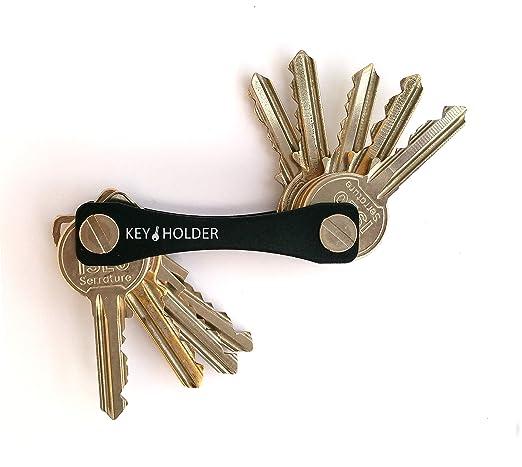 33 opinioni per Portachiavi Key Holder Compatto Tascabile e Resistente Portachiavi in stile