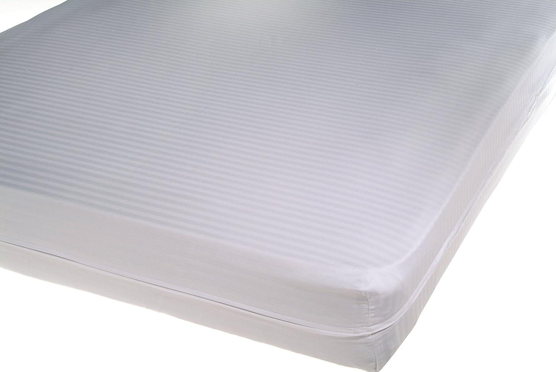 Cándido Penalba Mallorca - Funda de colchón cutí Raso labrado, 90 x 190/200 cm