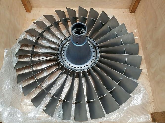 Amazon com: Pratt & Whitney JT8D Stage 1 Compressor Fan