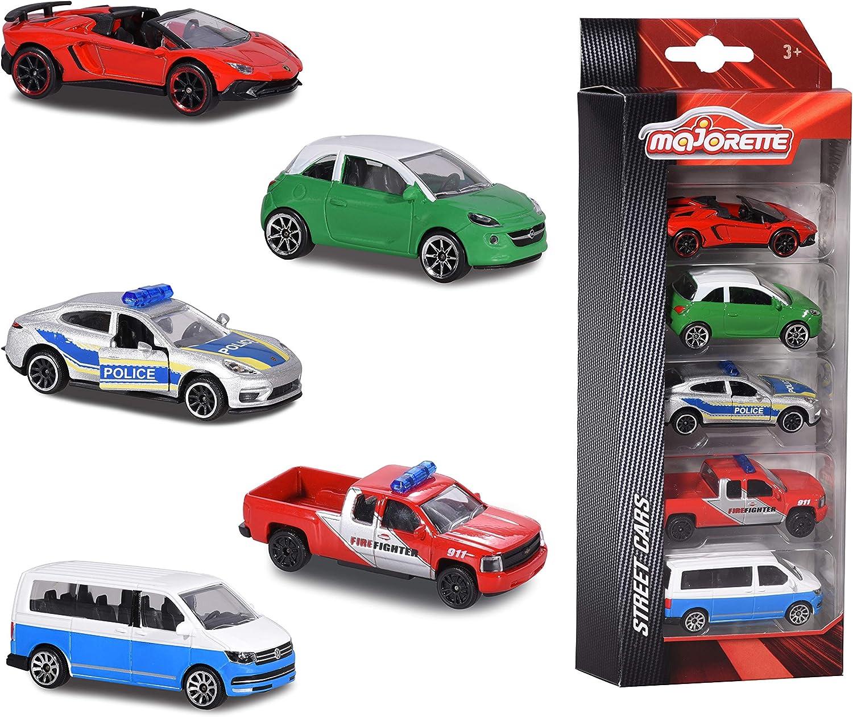 5 voitures majorettes en promotion