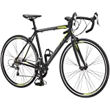 Schwinn Phocus 1400 and 1600 Drop Bar Road Bicycle for Men and Women, Alluminum Frame, 14 or 16-Speed Drivetrain, Carbon…