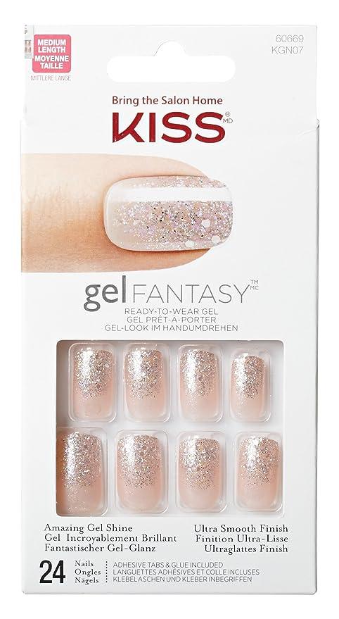 Besar Gel Fantasy Nails - Hora punta C, 1er Paquete (1 x 24 Pieza