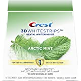 Crest 3D Whitestrips Arctic Mint, Teeth Whitening Kit, 28 Individual Strips (14 Treatments) + 1 Tube of Flavor Serum
