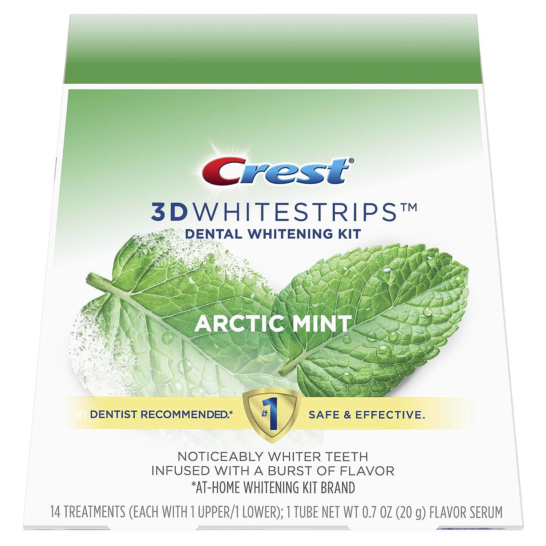 Amazon Com Crest 3d Whitestrips Arctic Mint Teeth Whitening Kit