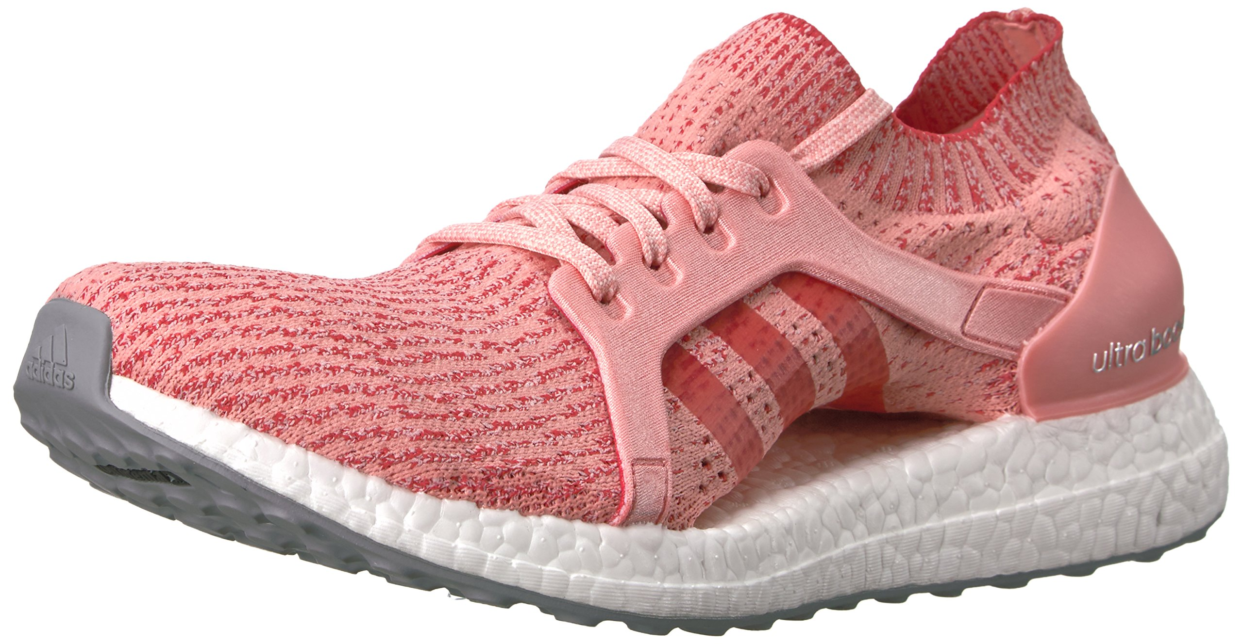 1103644fc0b2a Galleon - Adidas Women s Ultraboost X Running Shoe Trace Pink Tactile RED 8  Medium US