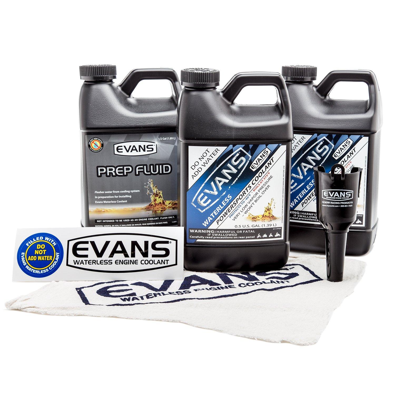 EVANS Waterless Coolant ATV/Snowmobile Full Conversion Bundle
