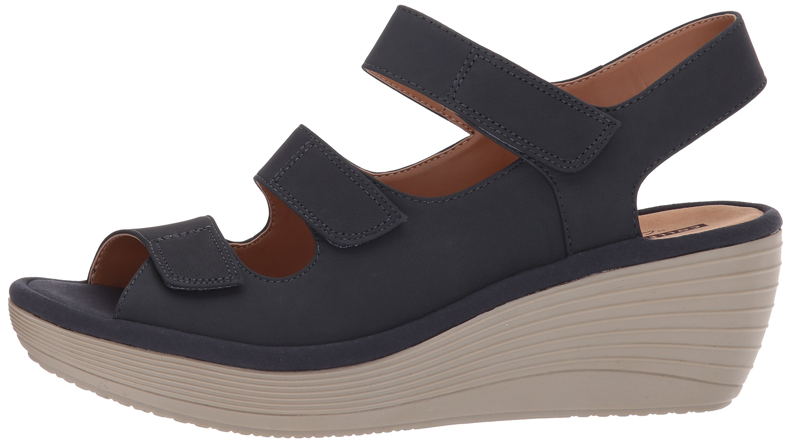 6d00746e25a1 CLARKS Women s Reedly Juno Wedge Sandal