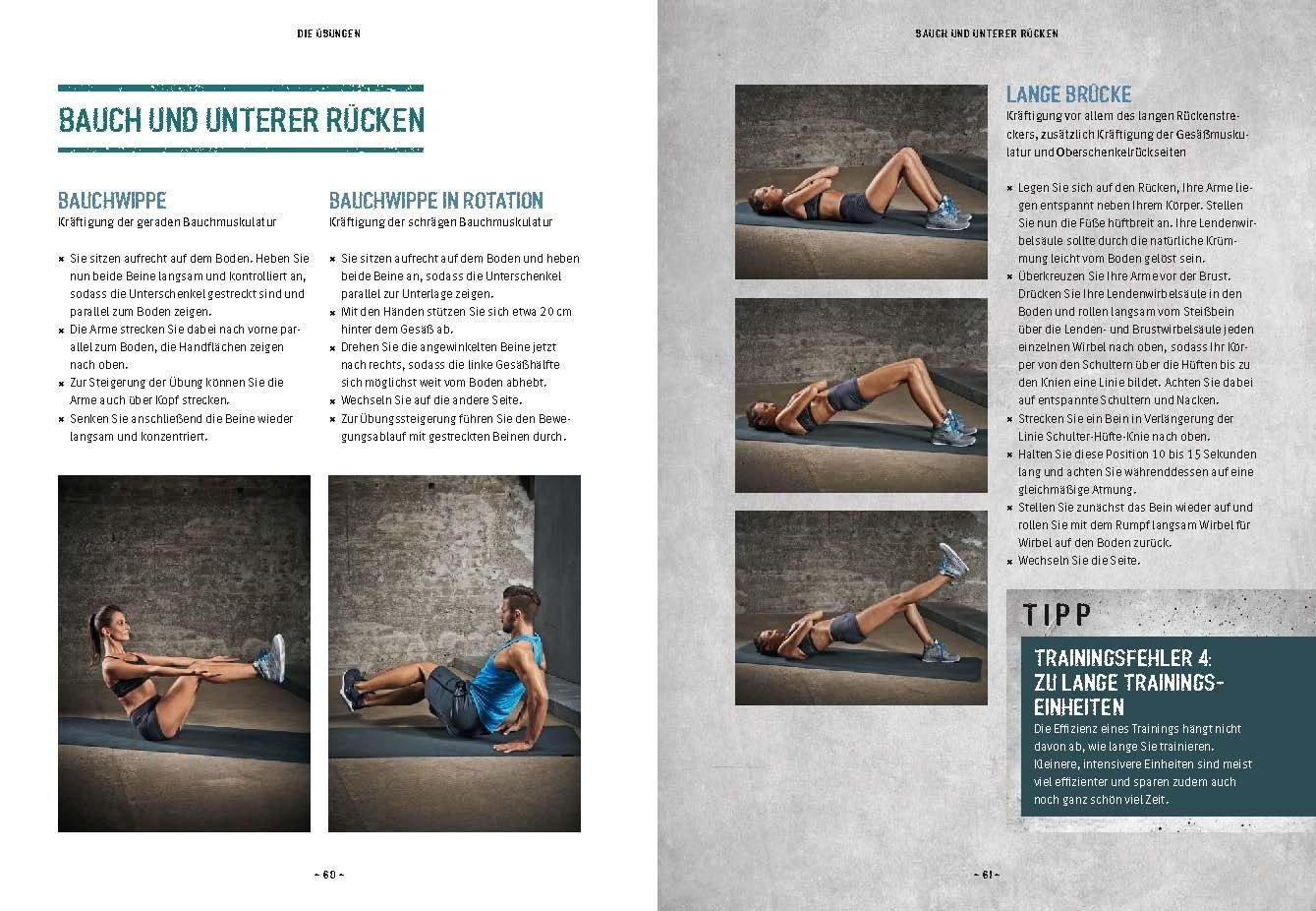Geliebte Das Muskel-Workout: Über 100 hocheffiziente Übungen ohne Geräte #CN_51