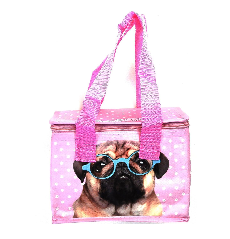 Pug Insulated Woven Lunch Box Bag   B0188419VI