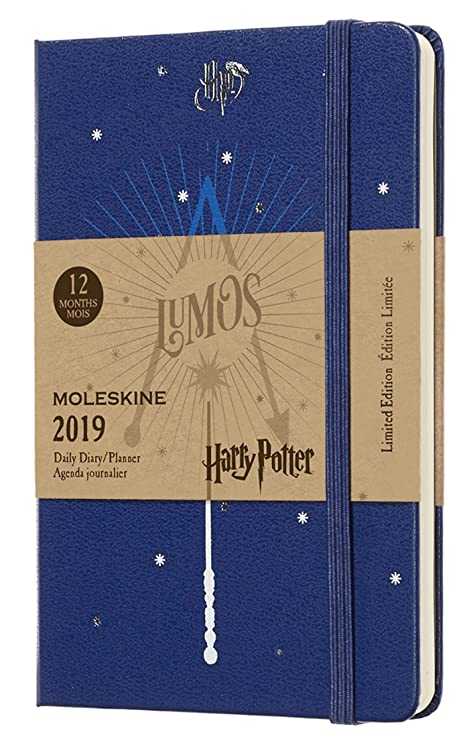 Amazon.com : Moleskine Limited Edition Harry Potter 12 Month ...
