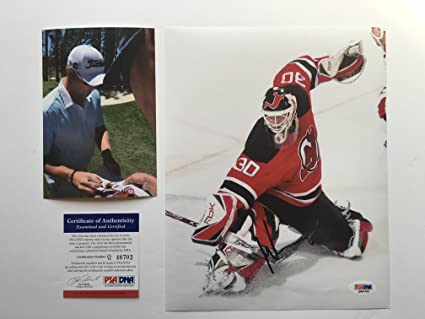 Amazon Com Martin Brodeur Hot Signed Autographed New Jersey Devils