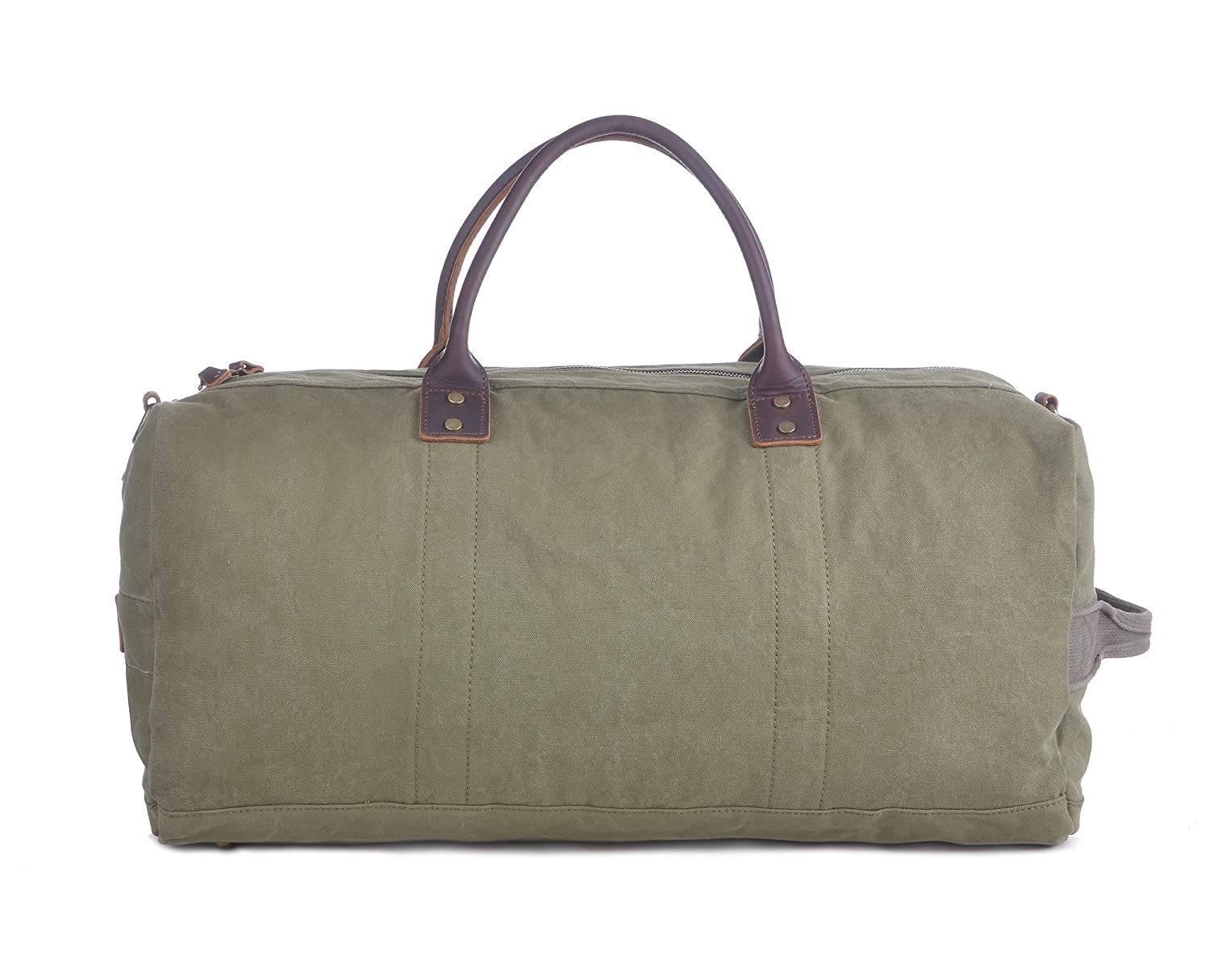 b834abf437 Gootium Duffle Bag - Canvas Travel Tote Carry on Luggage Duffel Overnight  Weekend Bag